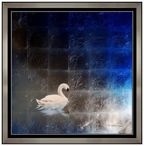 """Original Swan"" by Patrick Guyton"