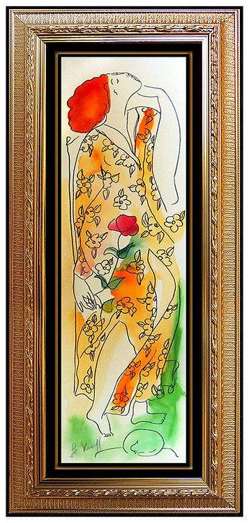 """Dreaming of Flowers Original"" by Linda Le Kinff"