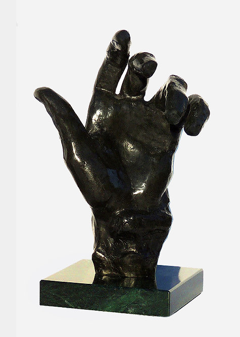 """""""Left Hand"""" by Auguste Rodin"""