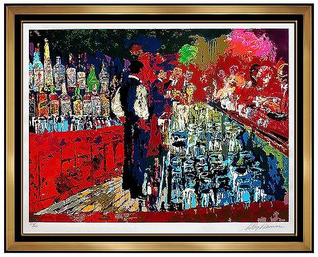 """""""Chicago Key Club Bar"""" by Leroy Neiman"""