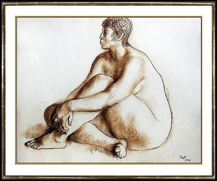"""Original Mujer"" by Francisco Zuniga"