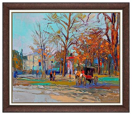 """Bois de Boulogne"" by Nicola Simbari"