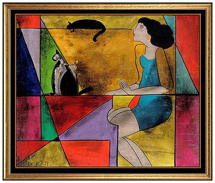 """""""Original Camille et Les 3 Chats"""" by Linda Le Kniff"""