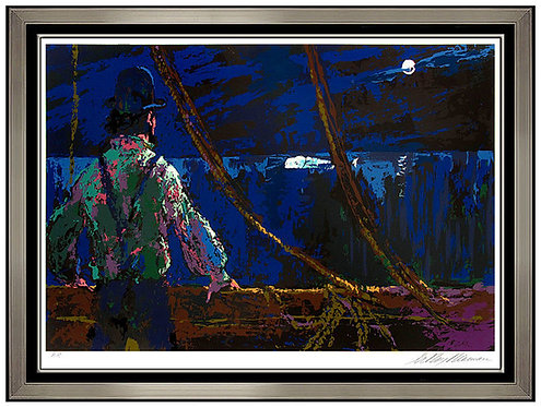 """Ahab at the Night Watch"" by Leroy Neiman"