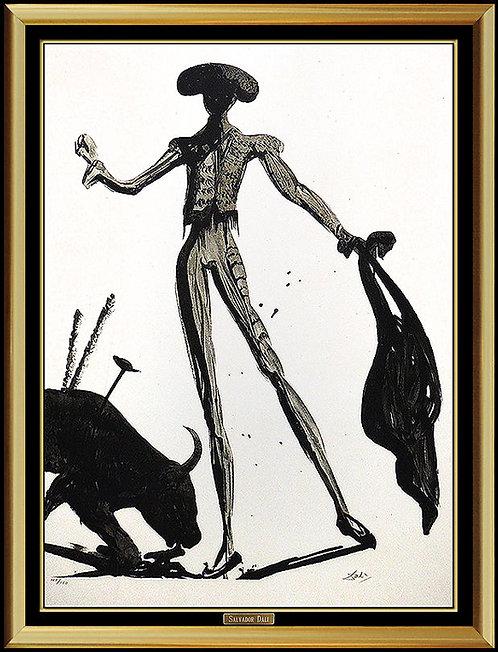 """Torero Noir"" by Salvador Dali"