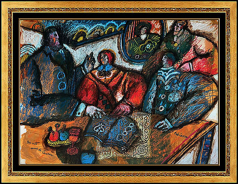 """Des Mots Venus de Caanan"" by Theo Tobiasse"