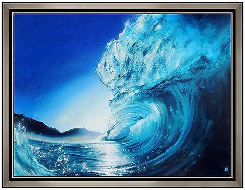 """Original Shore Break Blue"" by Ashton Howard"