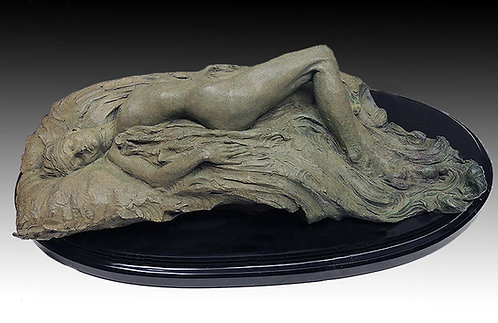 """Reclining Nude"" by Richard MacDonald"