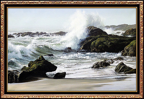 """Original Pacific Breakers"" by James Fetherolf"