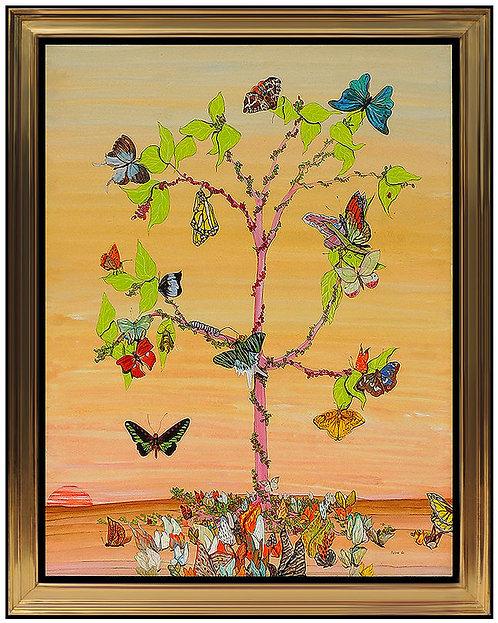 """""""Original Flowers in Flight"""" by Fleur Cowles"""
