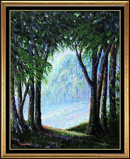 """Original Mystic Woodland"" by Harry McCormick"