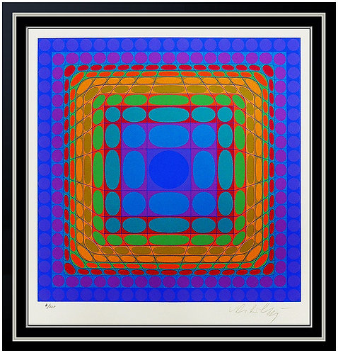 """Vega Square"" by Victor Vasarely"