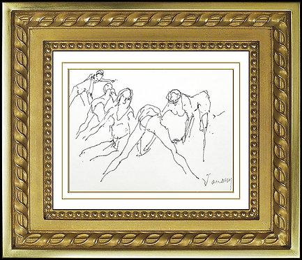 """Les Ballerinas"" by Jean Jansem"