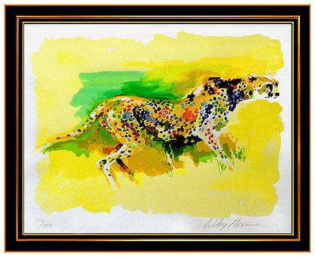 """Cheetah"" by Leroy Neiman"