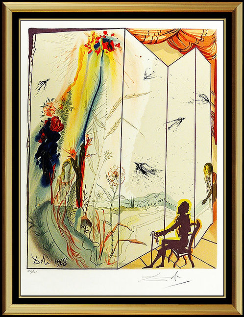 """The Twins Outwit Damis"" by Salvador Dali"