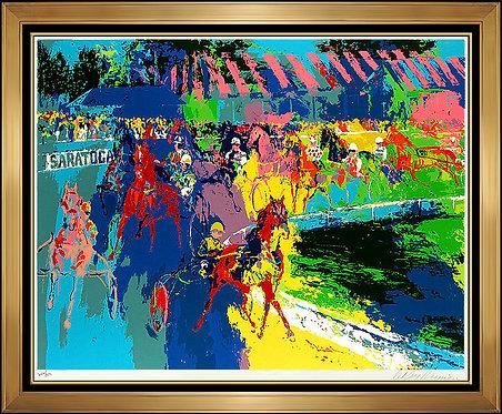 """""""Saratoga"""" by Leroy Neiman"""