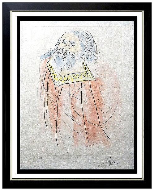 """Jeremiah"" by Salvador Dali"