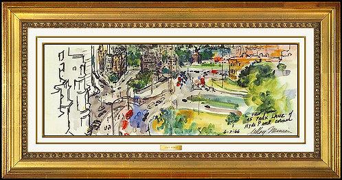 """Hyde Park Original"" by LeRoy Neiman"