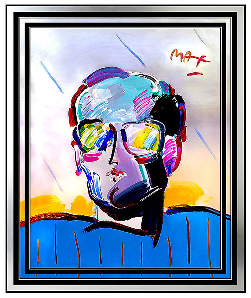 """The Original Neo Man"" by Peter Max"