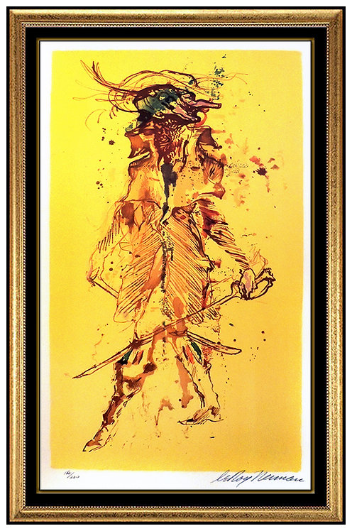 """""""The Captain"""" by LeRoy Neiman"""