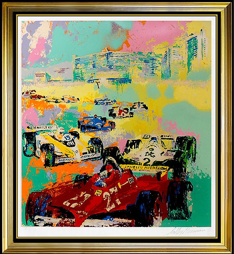"""Grand Prix, Caesar's Palace"" by Leroy Neiman"