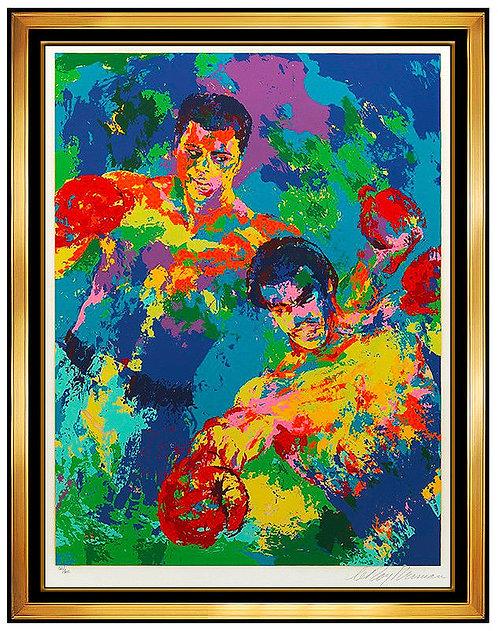 """""""Ali - Foreman Zaire"""" by LeRoy Neiman"""