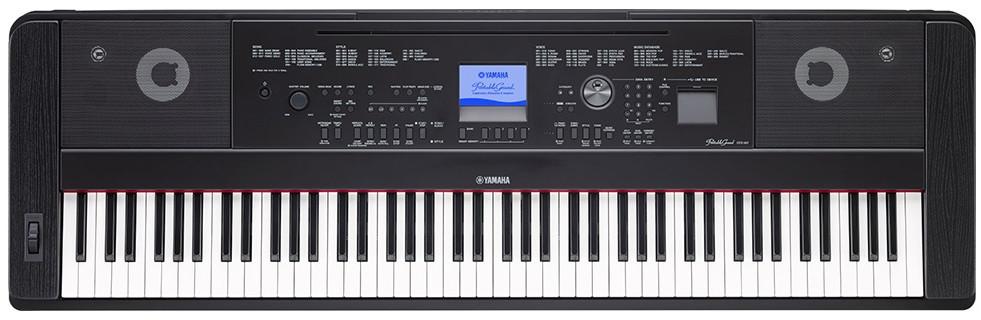 Yamaha DGX 660 ovládání