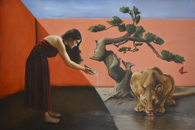 Circe and her Lioness