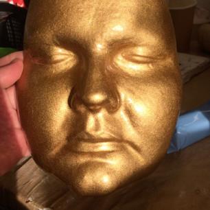 Fibreglass face front.