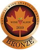 Canadian Wine Awards, Bronze Medal, Cider Award