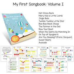 My-First-Songbook-Volume-I-Colorful-Shee