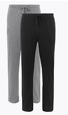 Boring Plain Trousers, 2pk