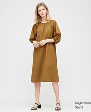 Puffy Sleeve Tunic/Dress