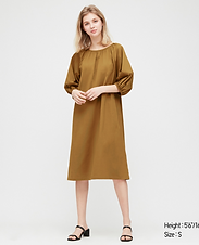 Puffy Sleeve Tunic/Dress