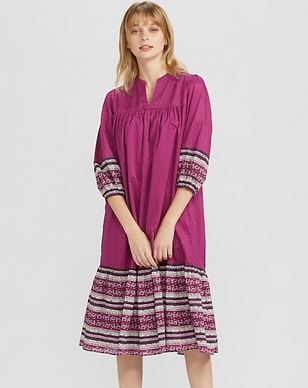 Cotton tunic/dress with decorations