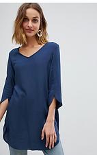 Plain Blue Tunic