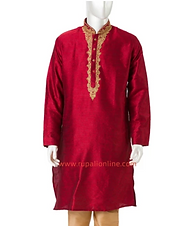 Red Collared Tunic