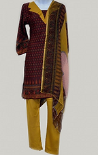 Crepe Tunic and Trouser Set