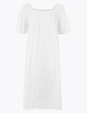 White Cotton Chemise