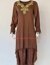 Brown Tunic Set