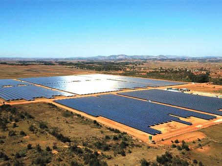La plus grande ferme solaire de Madagascar et de l'Océan Indien