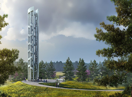 Tower of Voices, a Remembrance of Heroes of Flight 93