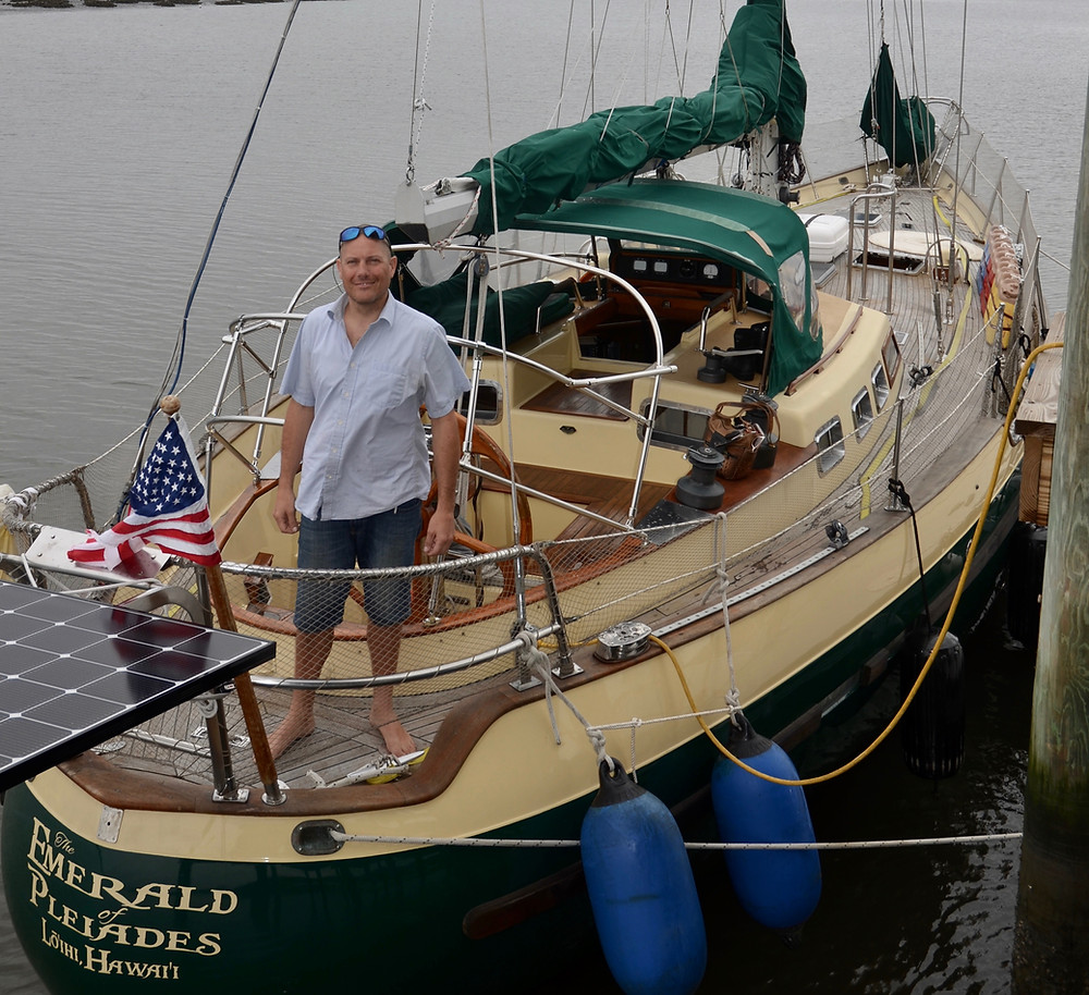 Preparing for a sail around the world