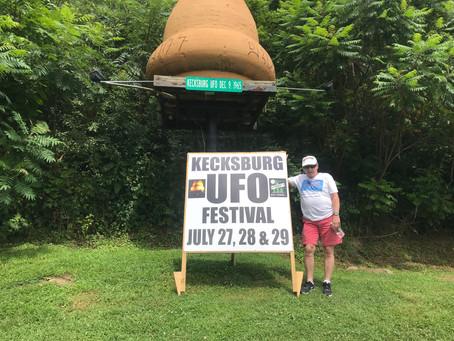 Finally: The Kecksburg, PA UFO Festival has Arrived!