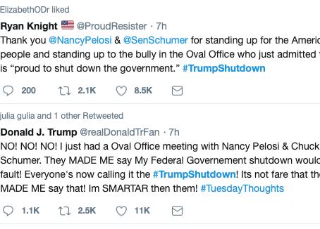 The Presidential temper tantrum