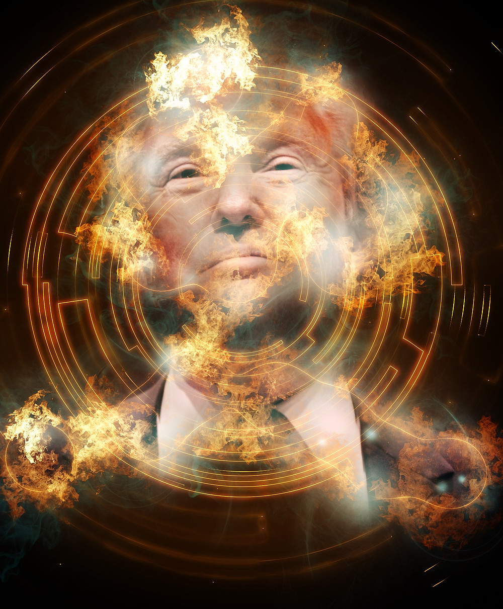 Trump believes the world revolves around him. He is a danger to the world.