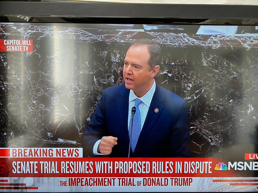 Rep. Adam Schiff, House impeachment manager