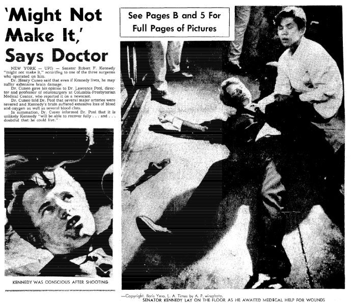 Robert F. Kennedy, Jr. now does not believe Sirhan Sirhan fired the shot that killed his father in 1968.