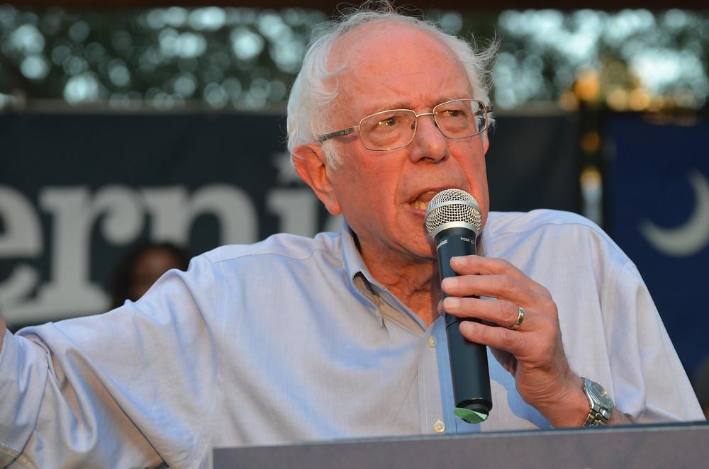 Sen. Bernie Sanders speaks