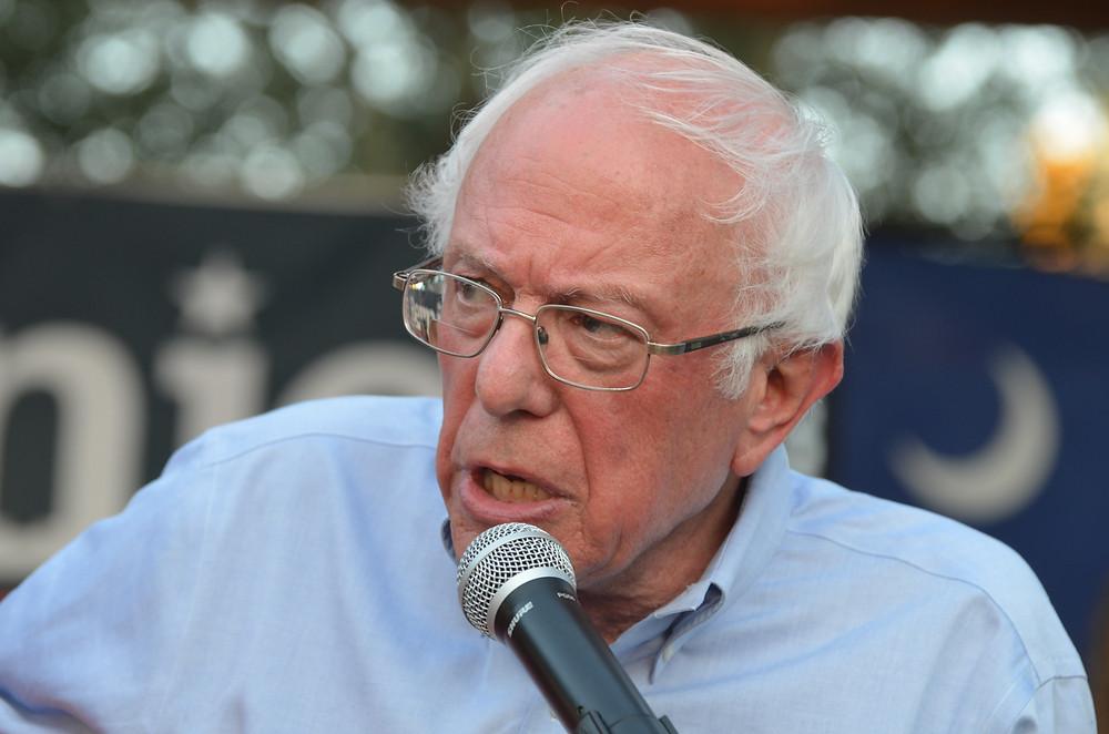 Sen. Bernie Sanders. Photo by Bob Gatty